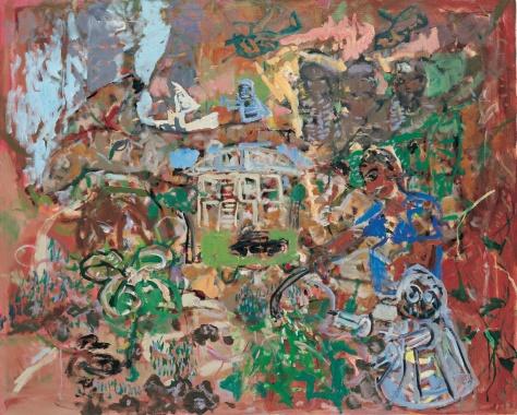 Border control 122 x 152 cm, oil, 2005