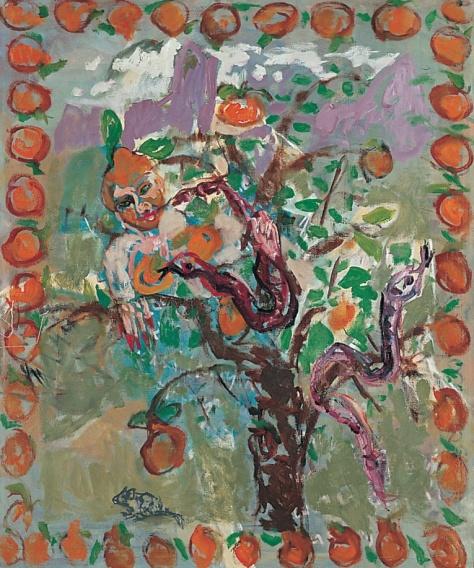 Citrus canker 150 x 122 cm, oil, 2003
