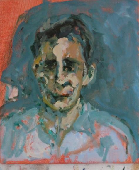 Passenger, 36 x 31 cm, oil, 2013