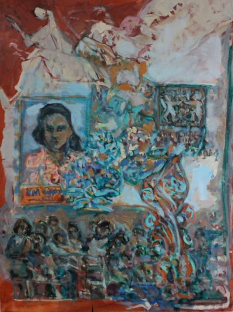 Emergency (Certificate) no.1 122 x 92 cm, oil, 2013