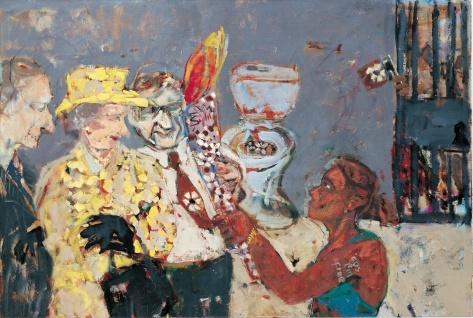 Ensuite NT 92 x 137 cm, oil, 2000