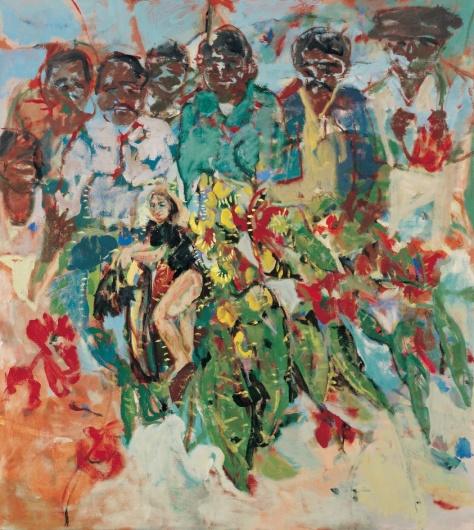 Eucalyptus 152 x 130 cm, oil, 2003