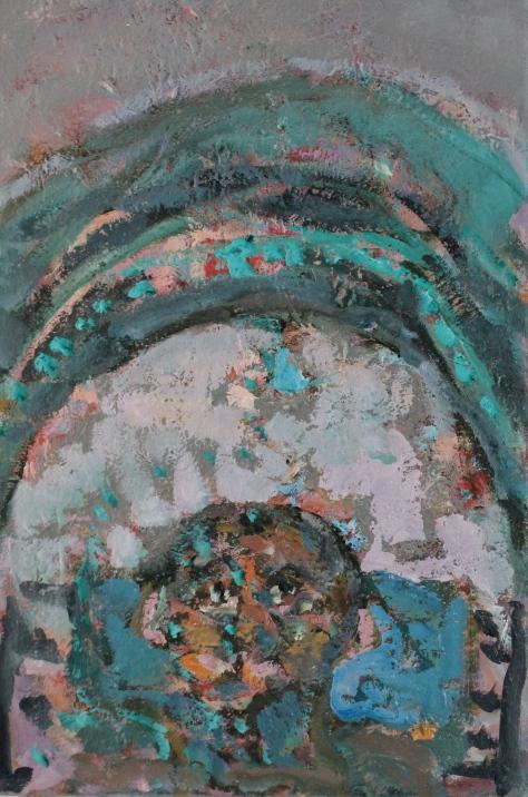 CT 46 x31 cm, oil, 2013