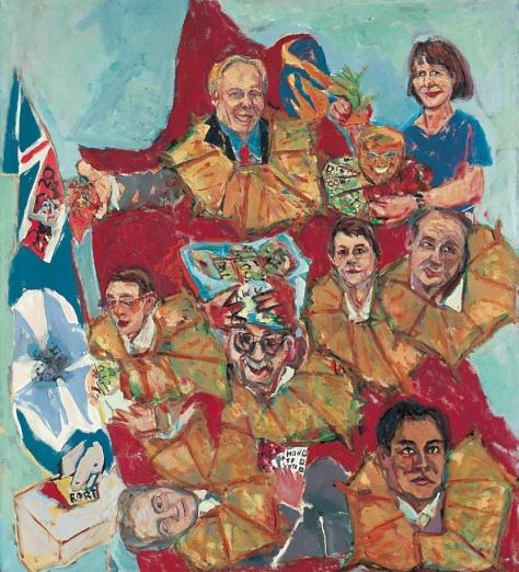 Rort 152 x 122 cm, oil, 2001