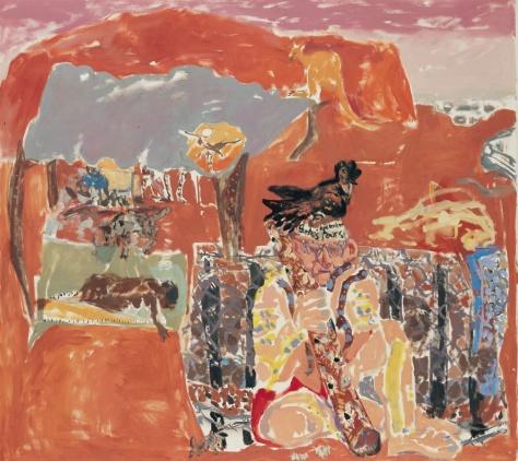 Understanding Indigenous Culture 122 x 122 cm, oil, 2000