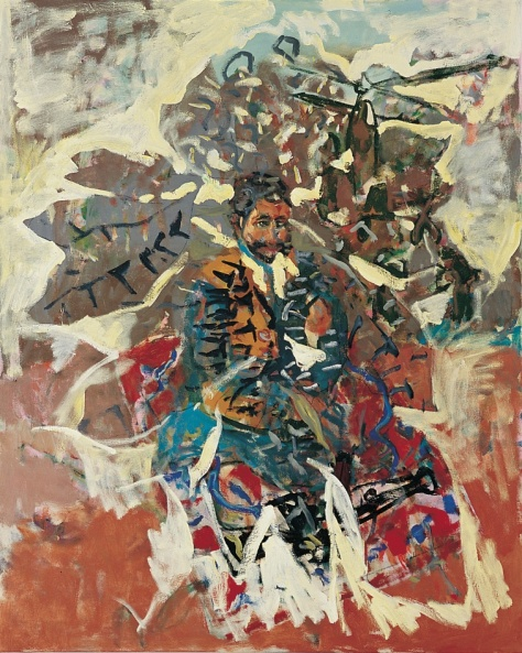 Waratah 152 x 122 cm, oil, 2005