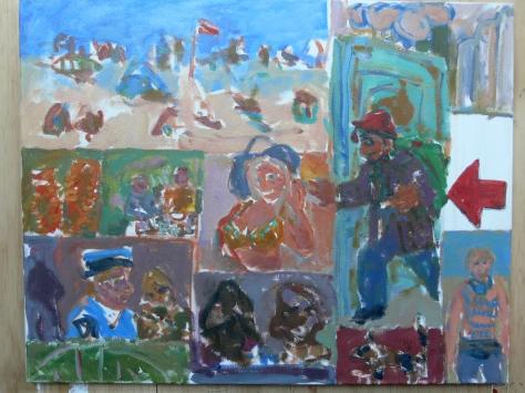 Home again  62 x 72 cm, oil