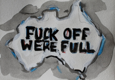Fuck off we're full